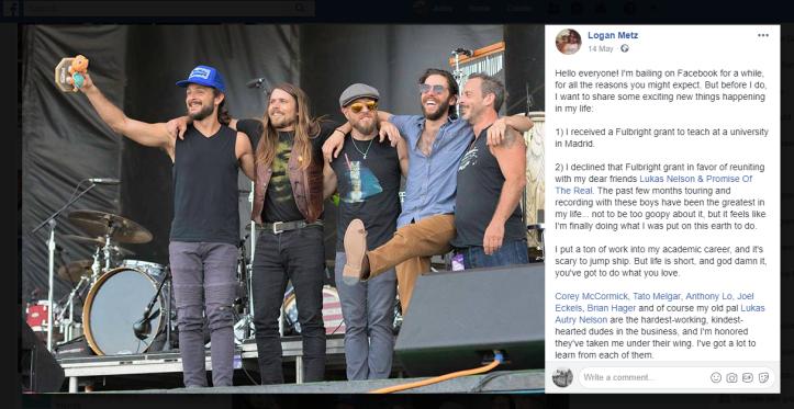 Logan Facebook